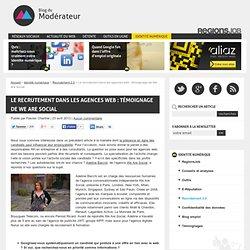 Le recrutement dans les agences web : témoignage de We Are Social