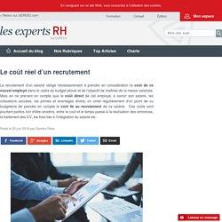 Le coût réel d'un recrutement – les experts RH by GERESO