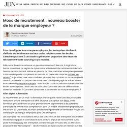 0417 Mooc de recrutement : nouveau booster de la marque employeur ?