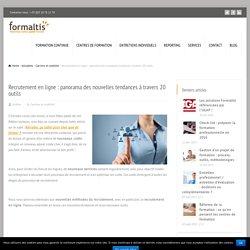 Recrutement en ligne : panorama à travers 20 outils