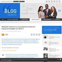 Mobilité interne ou recrutement externe : lequel privilégier en 2012