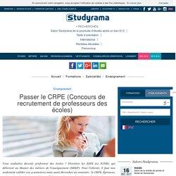 Passer le CRPE (Concours de recrutement de professeurs des écoles)