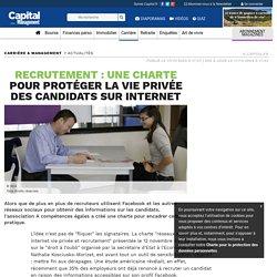 Recrutement : Une charte pour protéger la vie privée des candidats sur internet