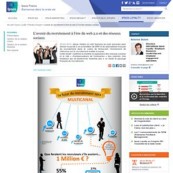 L'avenir du recrutement à l'ère du web 2.0 et des réseaux sociaux - Ipsos Loyalty