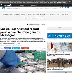 Lozère : recrutement record pour la société fromagère du Massegros - France 3 Languedoc-Roussillon