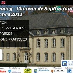 Plug&Work DeLux 2012 : la soirée de recrutement au Château de Septfontaines le 8 novembre 2012