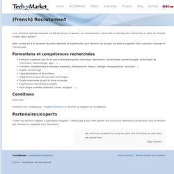 Tech2Market, Connecting Technology To Market