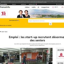 Emploi : les start-up recrutent désormais des seniors