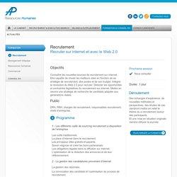 Recruter sur internet et avec le Web 2.0 - AP Ressources Humaines
