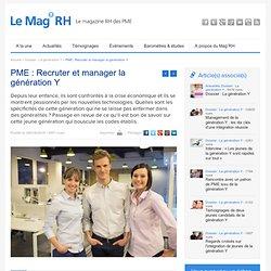 PME : Recruter et manager la génération Y