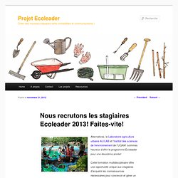 Stages formations courtes fellows etc pearltrees - Formation courte cuisine ...