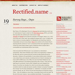 Rectified.name 正名