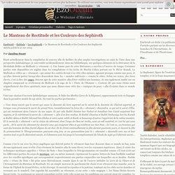 Le Manteau de Rectitude et les Couleurs des Sephiroth « Les Sephiroth « Kabbale
