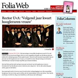 foliaweb: *vragen aan Rector Magn UvA tav R4D