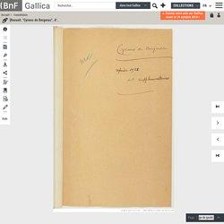 "[Recueil. 1938 - ""Cyrano de Bergerac"", d'Edmond Rostand]"