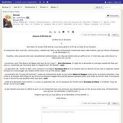 Recueil Chapter 1: Note de l'Auteur (Sommaire), a harry potter fanfic