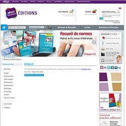 Boutique AFNOR - Liste de résultats Boutique Normes et produit d'édition