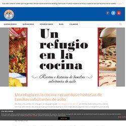 Un refugio en la cocina: recuerdos e historias de familias solicitantes de asilo - Málaga Acoge
