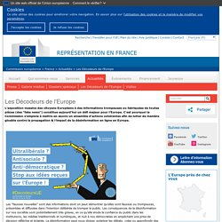 Idées reçues et questions sur l'Europe