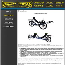Trident Trikes, Recumbent Trikes, Chameleon Convertitrike, Stowaway Folding Trike, Biking Gear, Buy a Bike, Find a Bike, Find a Bike Shop, Find a bike for you, Bicycle, Bicycles for Sale, Bicycle parts, Tom Flohr Trikes,