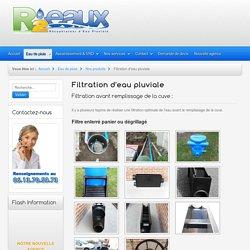 R2-Eaux - Récupérateur d'Eau Pluviale - Filtration d'eau pluviale