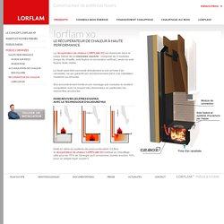 Le récupérateur de chaleur à haute performance - Lorflam