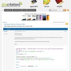 [Résolu]Recuperation parametre JS et feuille CSS