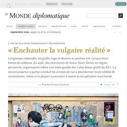 L'art de rue entre subversion et récupération, par Philippe Pataud Célérier (Le Monde diplomatique, septembre 2016)