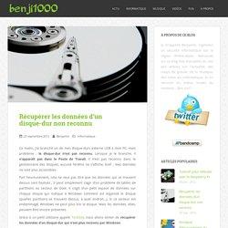 Récupérer les données d'un disque-dur non reconnu – Blog de benji1000