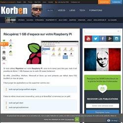 Récupérez 1 GB d'espace sur votre Raspberry Pi