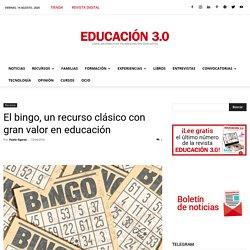 El bingo, un recurso clásico con gran valor en educación