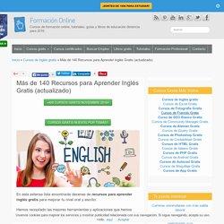 Recursos para Aprender Inglés Gratis (+140)!!