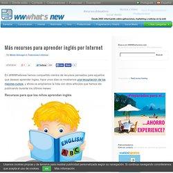 Más recursos para aprender inglés por Internet