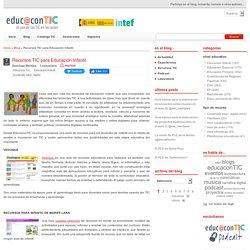 Recursos TIC para Educación Infantil