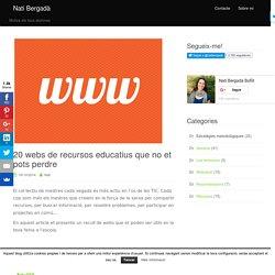 20 webs de recursos educatius que no et pots perdre I natibergada.cat