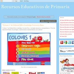 Recursos Educativos de Primaria: 1º Primaria Inglés