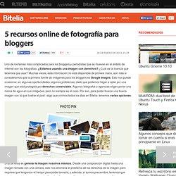 Recursos de fotografía para bloggers