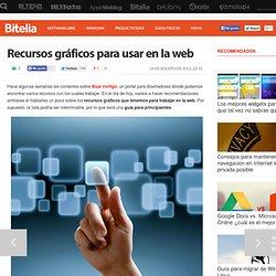 Recursos gráficos para usar en la web