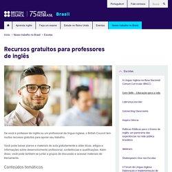 Recursos gratuitos para professores de inglês