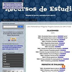 Recursos de Estudio: Libro Matemáticas Pitágoras Proyecto Conecta 2.0 (SM) 2º ESO