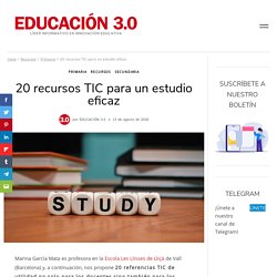 Recursos TIC para el aula: materiales digitales para el aula y casa