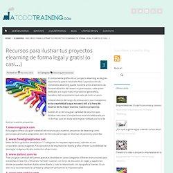 Recursos para ilustrar tus proyectos elearning de forma legal y gratis! (o casi...) » A todo training