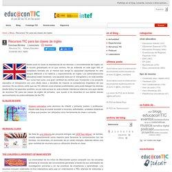 Recursos TIC para las clases de inglés