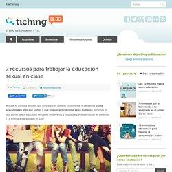 7 recursos para trabajar la educación sexual en clase