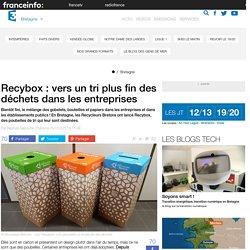 Recybox : vers un tri plus fin des déchets dans les entreprises