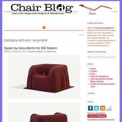 recyclable — Chair Blog