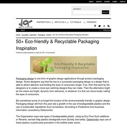 50+ Eco-friendly & Recyclable Packaging Inspiration