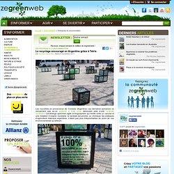 Le recyclage encouragé en Argentine grâce à Tetris