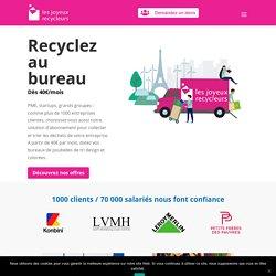 Recyclage et Gestion des Déchets en Entreprise - Dès 40€/mois !