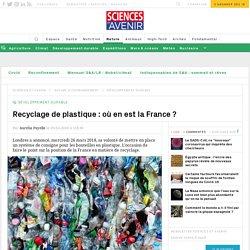 Recyclage de plastique : où en est la France ?